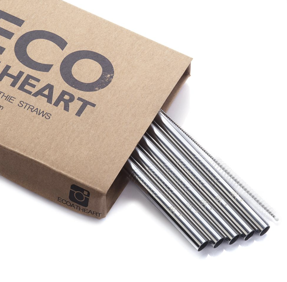 Eco at Heart - Each and every purchase positively contributes towards the cultural change that Eco at Heart are working towards on a global scale.Since 2014, they've created a range of stainless steel straws that provide a safe and more durable solution for sustainable living.https://www.ecoatheart.com