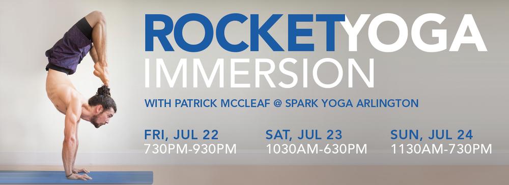Rocket Yoga Immersion