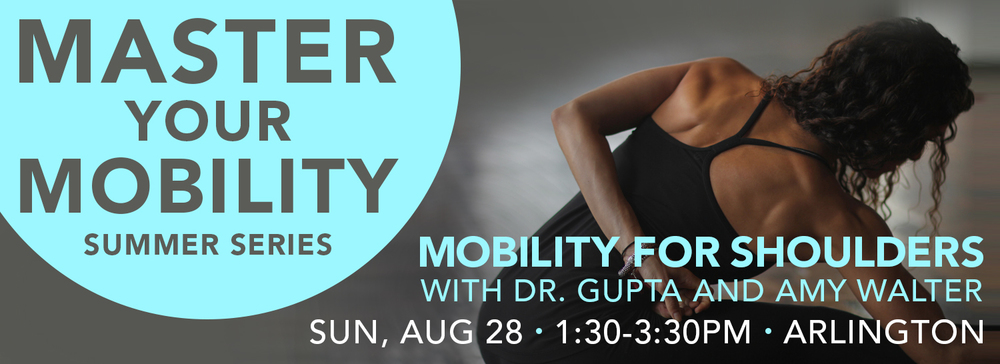 Spark Yoga - Master your Mobility - Mobility for Shoulders