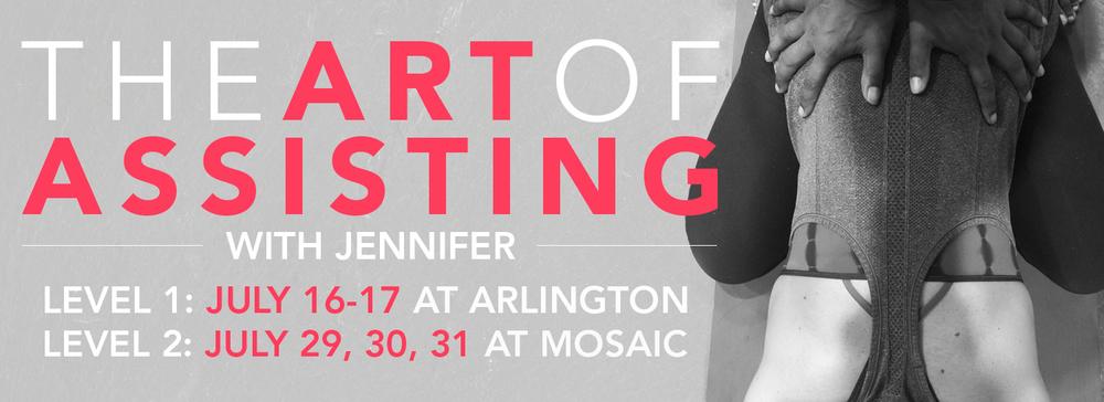 Art of Assisting Level 2 with Jennifer