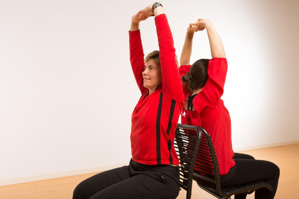 "Melissa Romero, ""Aerial Yoga at Spark Yoga,"" Washingtonian, 12/12/13"