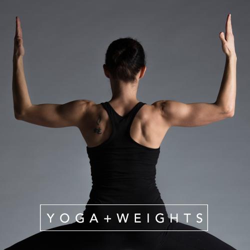 Yoga + Weights