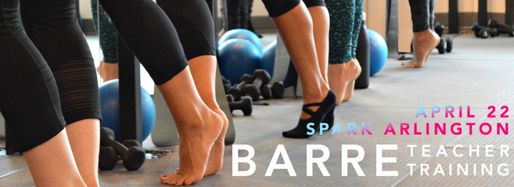 Spark Barre Training 2017