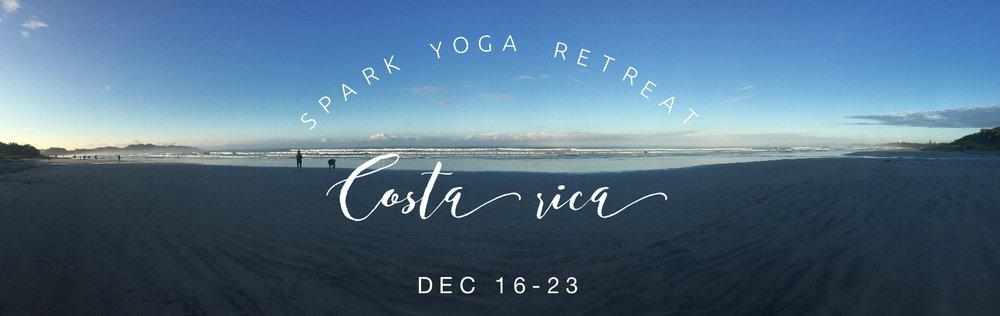 Spark Yoga Retreat to Bodhi Tree Costa Rica