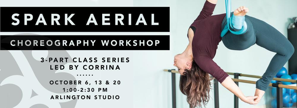 Spark Aerial Choreography Workshop