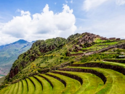 AUGUST 11  > AM Yoga > Day trip to Pisac Ruins > Market Day! Visit the Pisac Market when all the neighboring communities come together. Get ready to shop or just grab a snack at one of the local stalls.  > PM Yoga > Meals included: All Meals > Accommodations: Mandala Sacred Valley