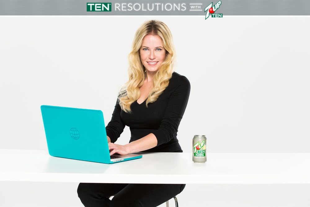 Chelsea Handler for 7Up Ten