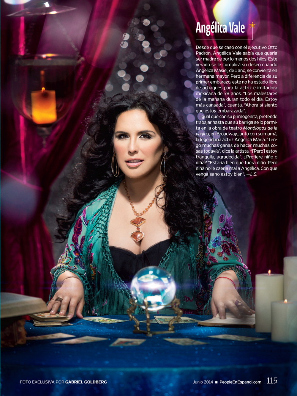 People Espanol 50 Most Beautiful Issue, Angelica Vale