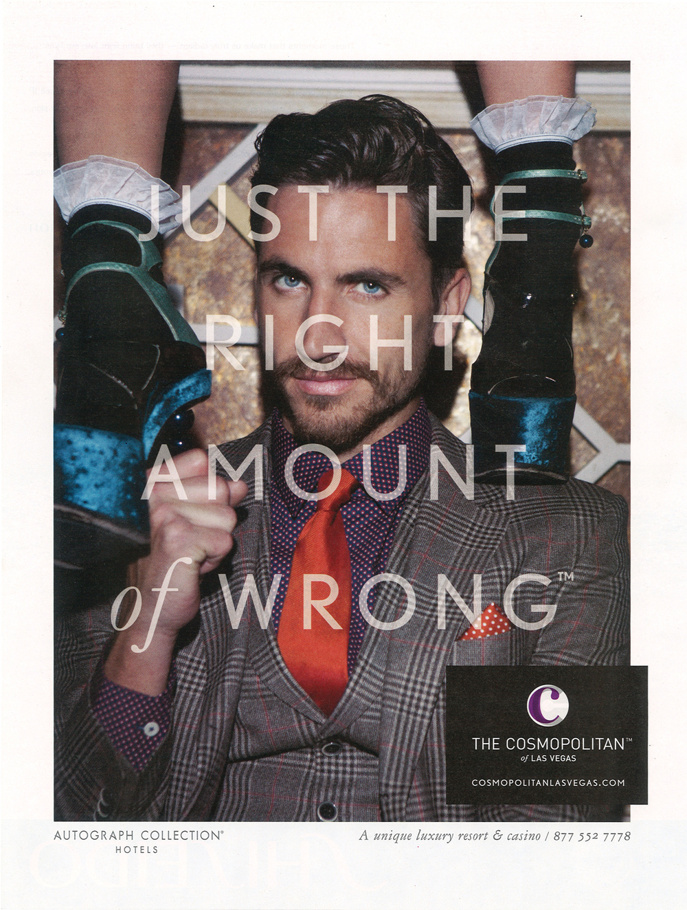 Print ad for The Cosmopolitan