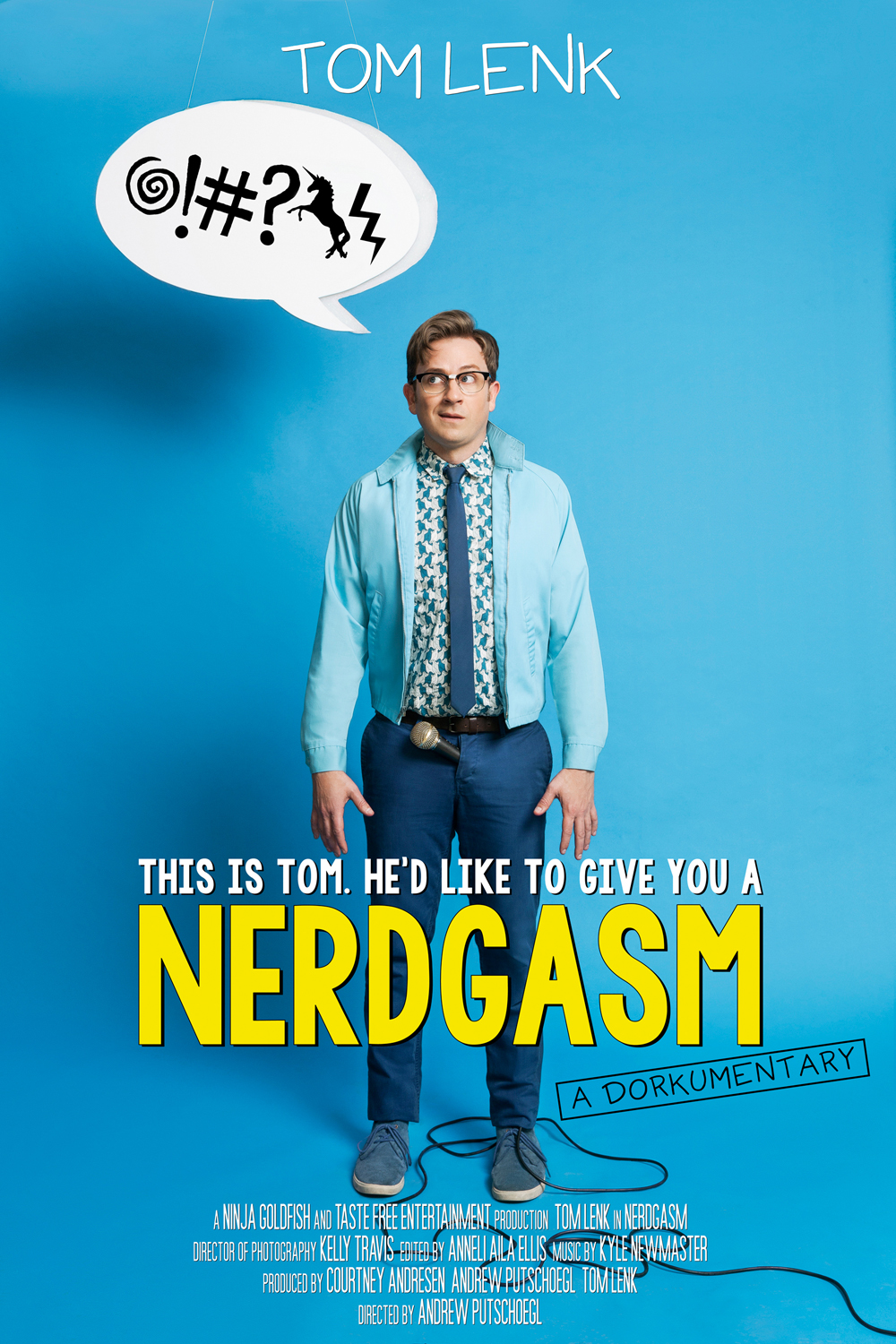 Movie poster for Nerdgasm