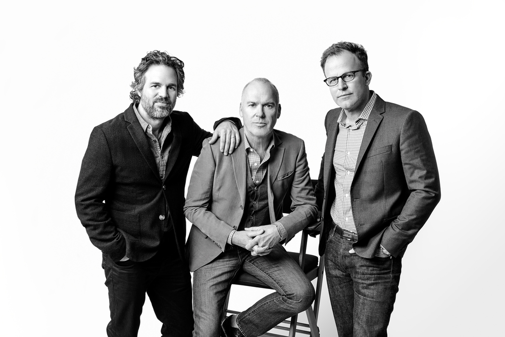 Mark Ruffalo, Michael Keaton & Tom McCarthy
