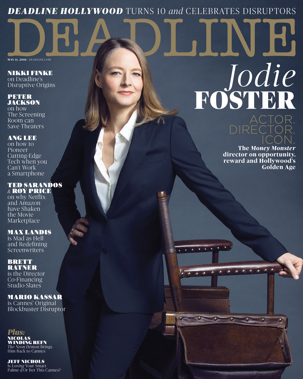 Copy of Deadline 10-Year Anniversary Issue, Jodie Foster