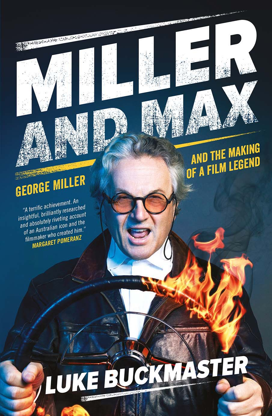 """Miller and Max"" book cover"