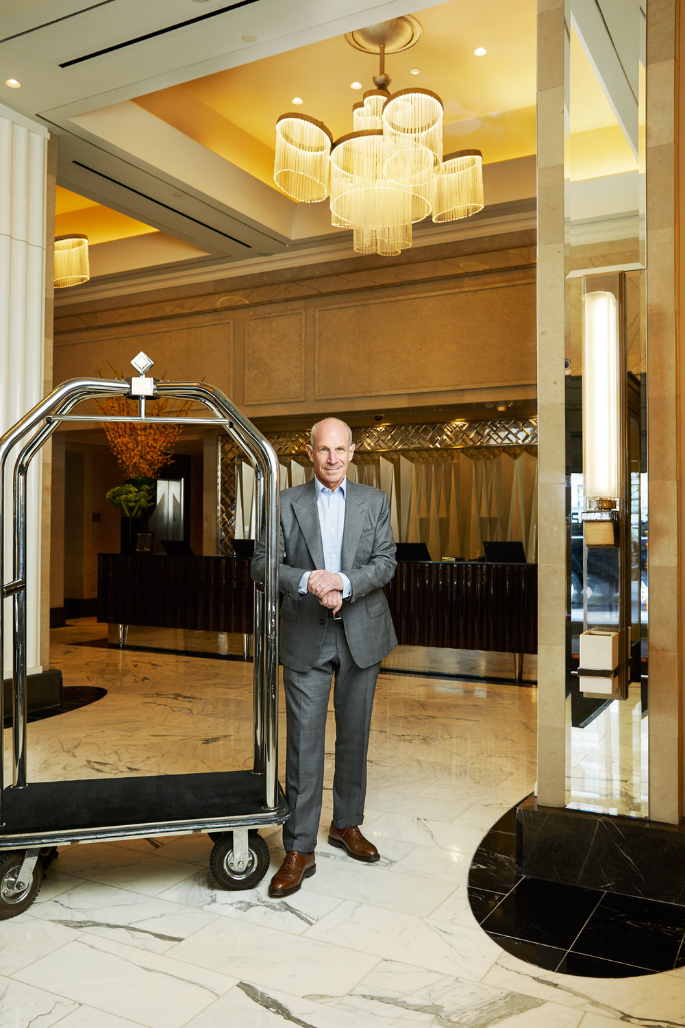 Jonathan Tisch, Chairman & CEO, Loews Hotels