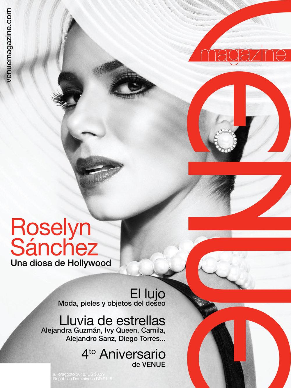 Roselyn Sanchez, Venue magazine