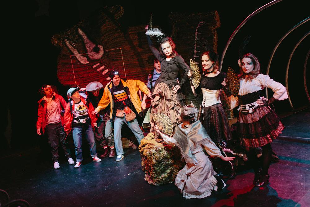 Bone Wars by Matthew MacKenzie. Presented by Punctuate! Theatre