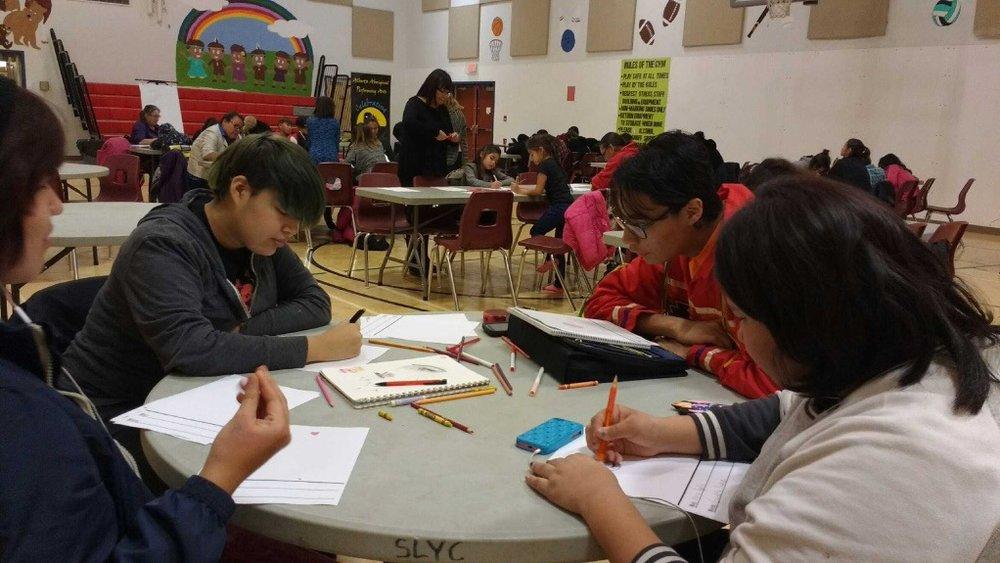 Copy of Minosis design workshop at Saddle Lake First Nation, Alberta