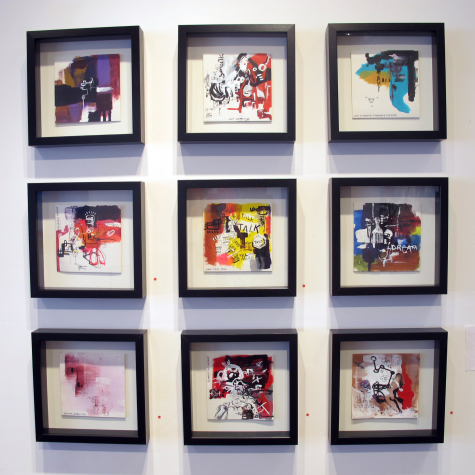 smala framed drawings by brad robson