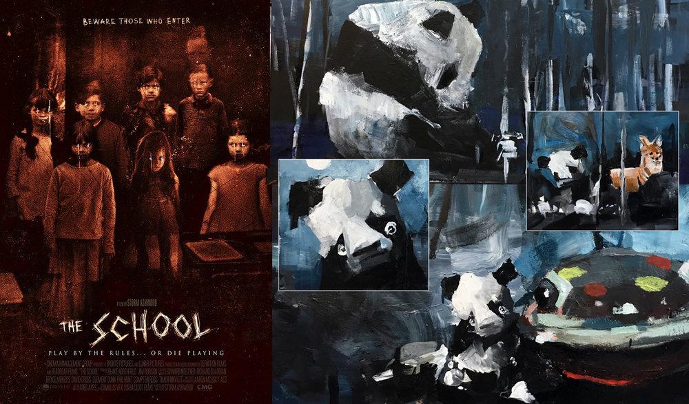 """The School,"" Illustrations, 2017"