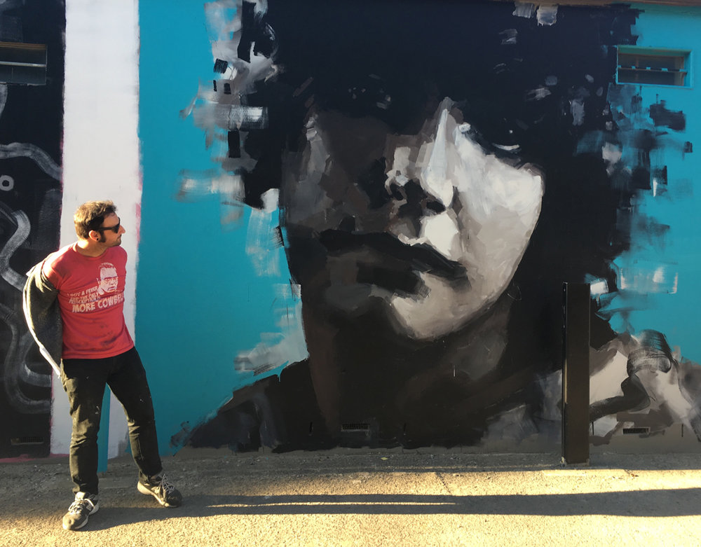 Annette Kellerman Mural