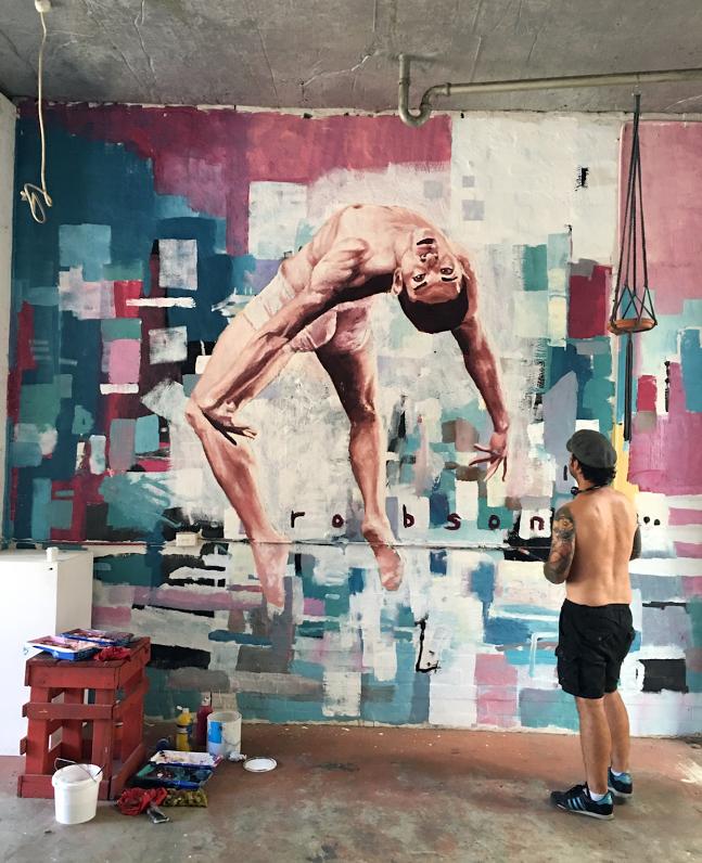 Mural at Create Or Die 2016