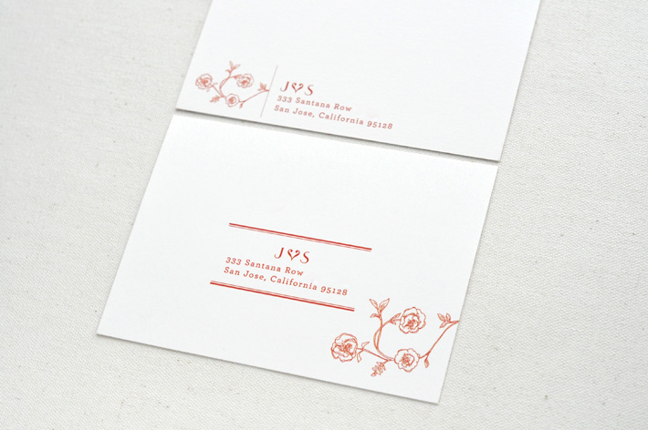 RSVP cards by Paper & Type