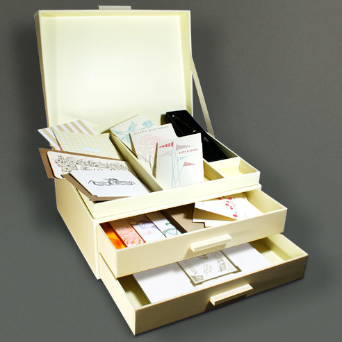 curated desk sets , by fitzgerald coleman.
