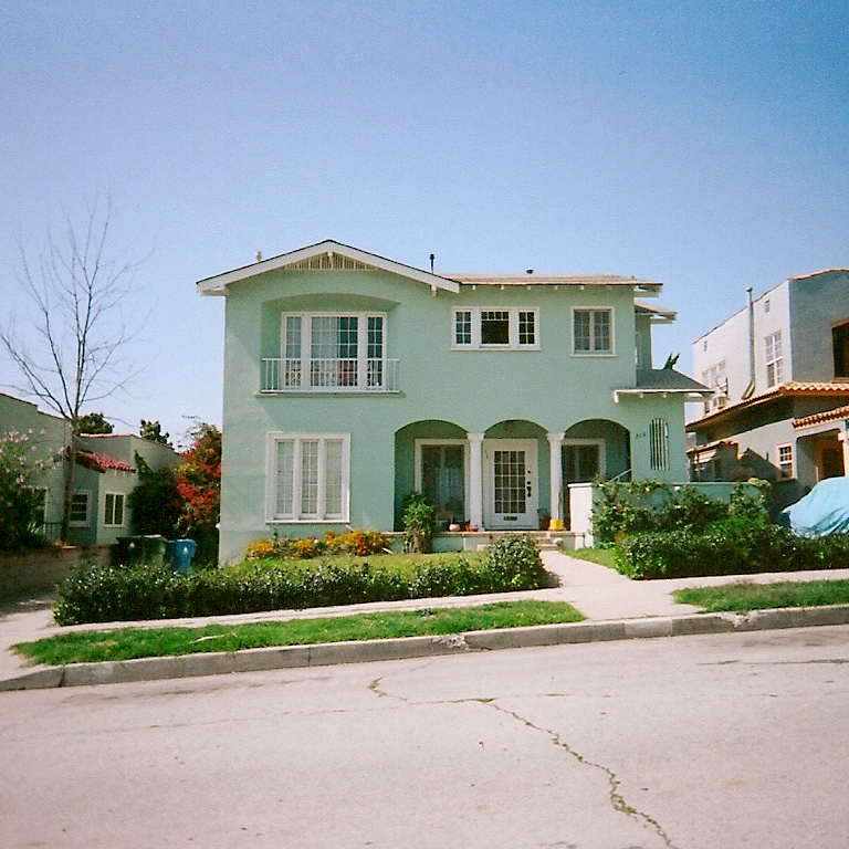 a house in mint (the unofficially official color for paper & type). … silver lake / los angeles, california
