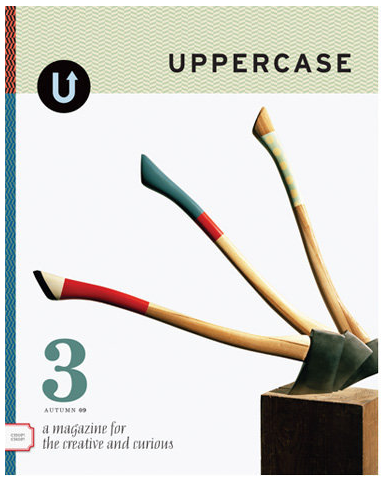 awaiting uppercase magazine issue #3 to arrive by post (as should you be!).  for now, you can preview the issue from your computron, but i guarantee that you will want the real thing to call your own - with the turn of each smooth & weighty page your eyes will widen & mouth will gasp & heart will flutter.  you will want to hug this magazine. please do subscribe - tis every bit of delightfulness!  thank you to janine vangool for creating & sharing such a beautiful thing.