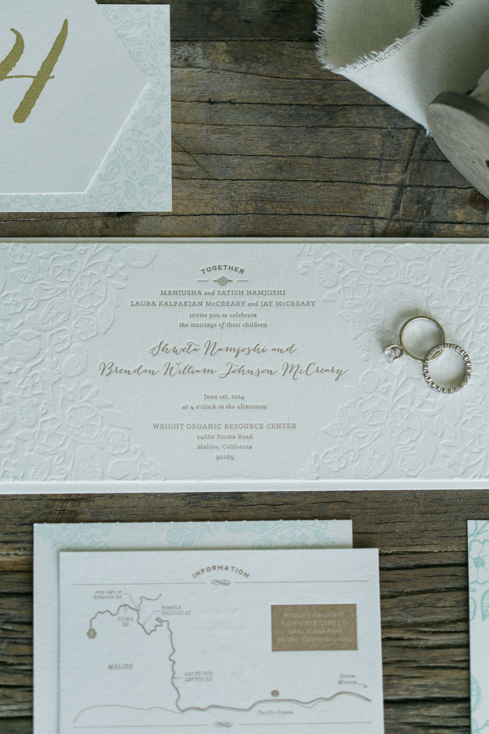 Paisley & Poppies Invitation / Paper & Type