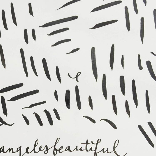 calligraphy process / paper & type