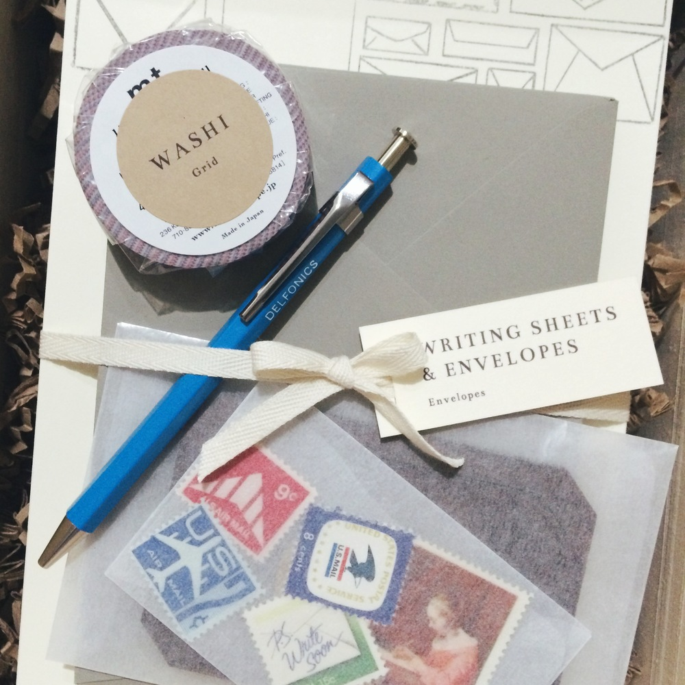 The Letter Writing Kit / Paper & Type x Paper Pastries