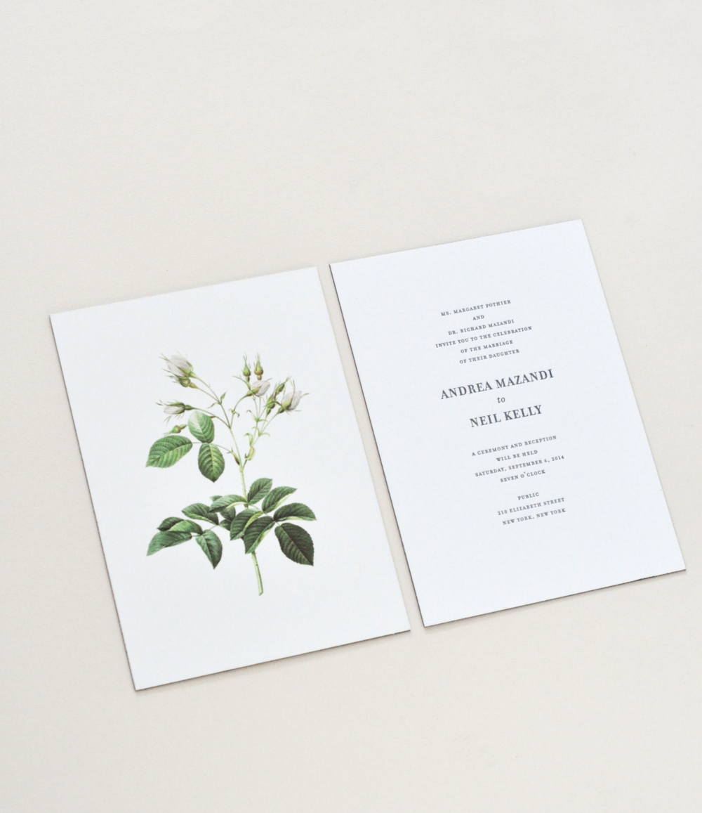 ANDREA & NEIL · Invitation