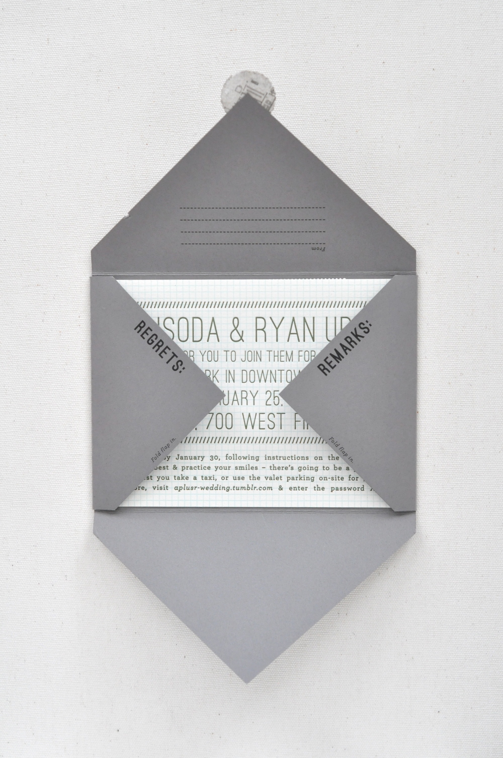 WRK-SHP WEDDING · Invitation