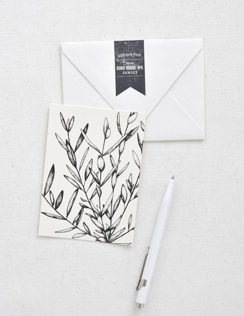 SOHO HOUSE · Holiday Stationery
