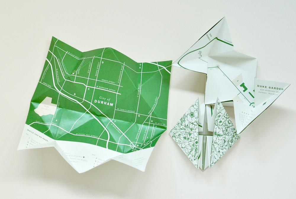 Folded map insert / Paper & Type