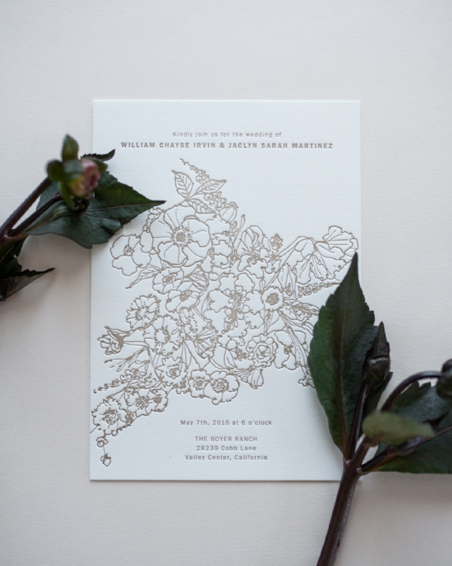 ALLOVER FLORALS · Invitation