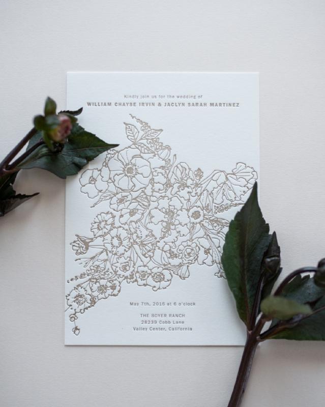 Allover Florals | Invitation