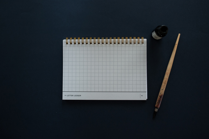 Letter Ledger 2.0 / Paper & Type