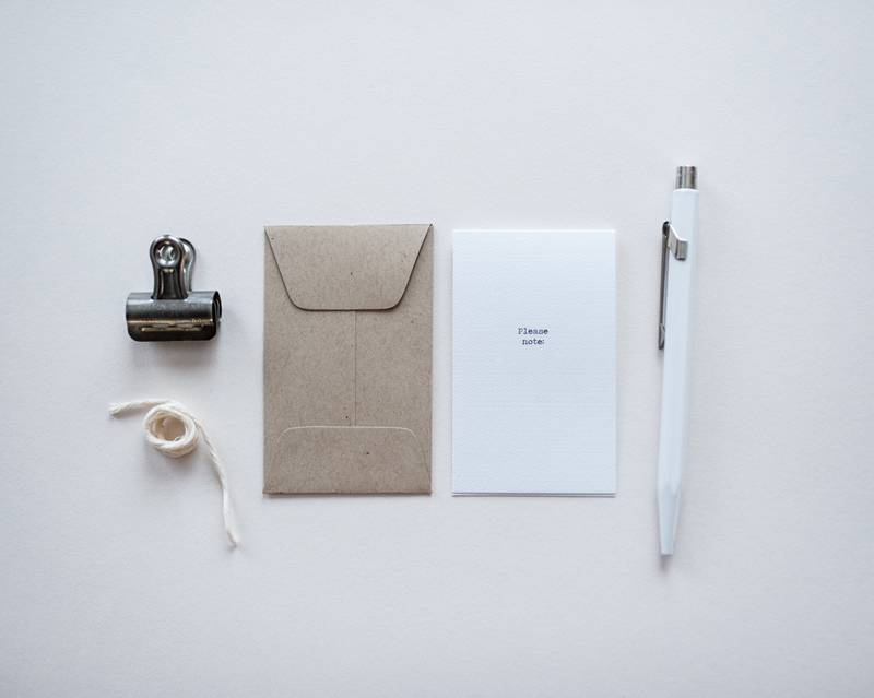Little Notes / Paper & Type