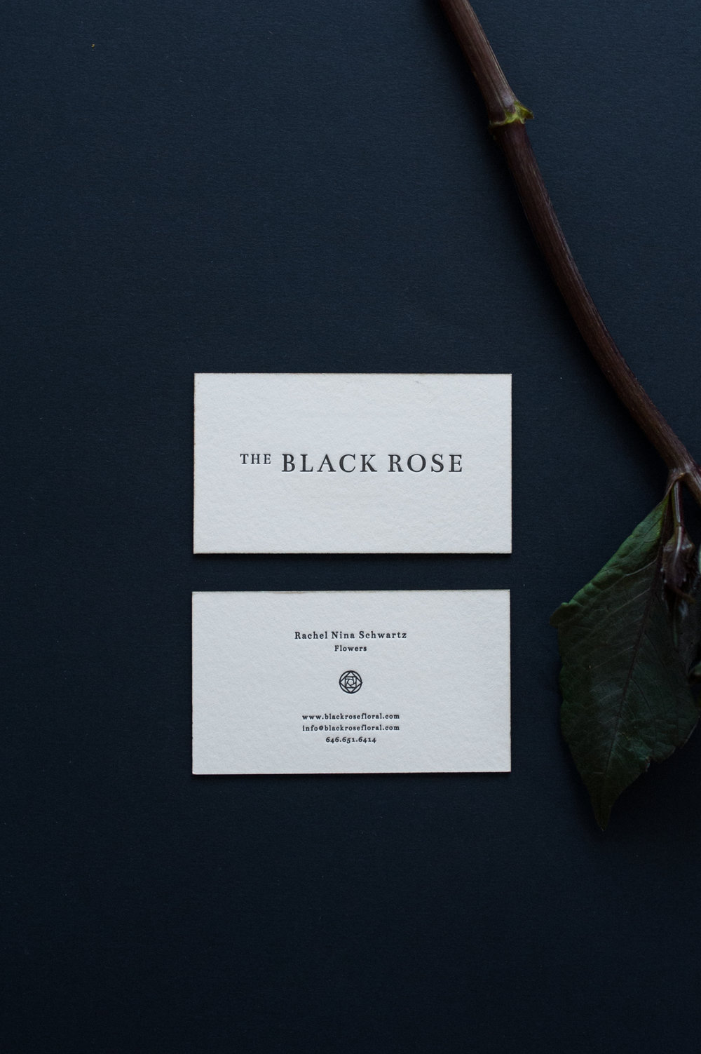 THE BLACK ROSE · Logo & Identity