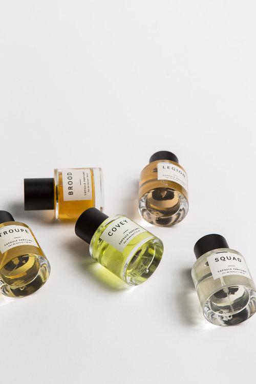 Capsule Parfumerie - LOGO · IDENTITY · PACKAGING