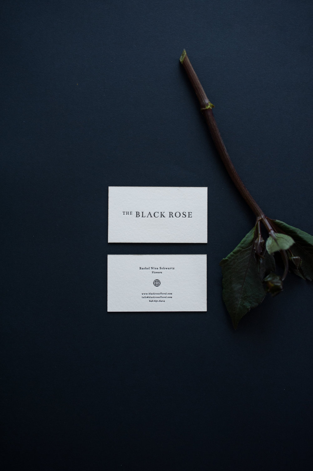 The Black Rose - LOGO · IDENTITY