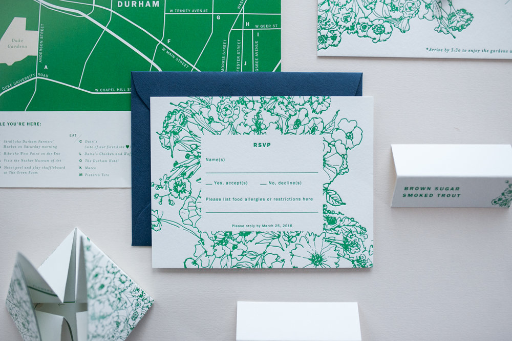 Allover Florals - INVITATION · COORDINATES