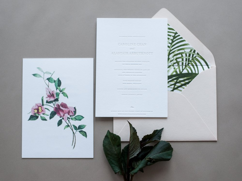 Tropical Wedding - INVITATION · COORDINATES