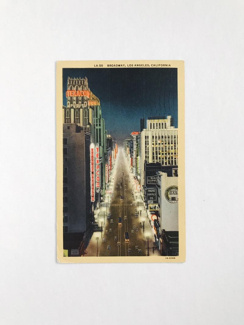 Vintage Postcard Finds / Paper & Type