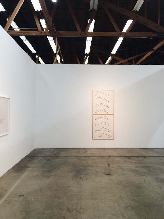 Channa Horwitz at Ghebaly Gallery