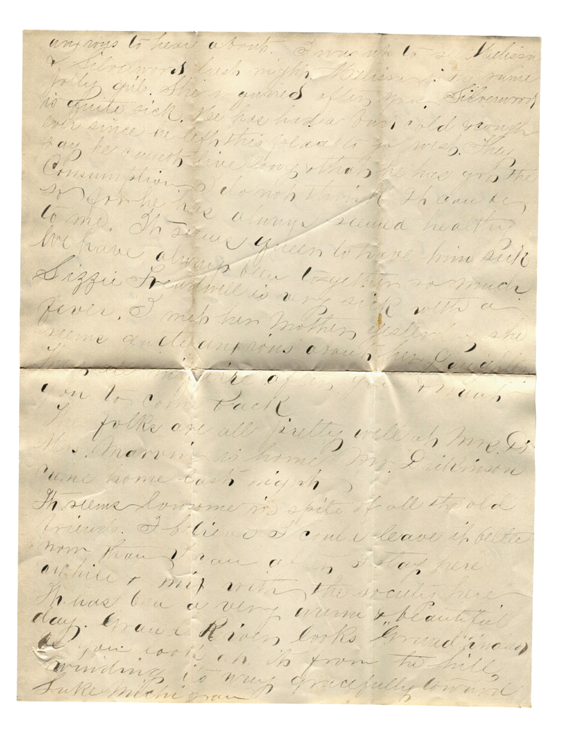 Letter to Belle