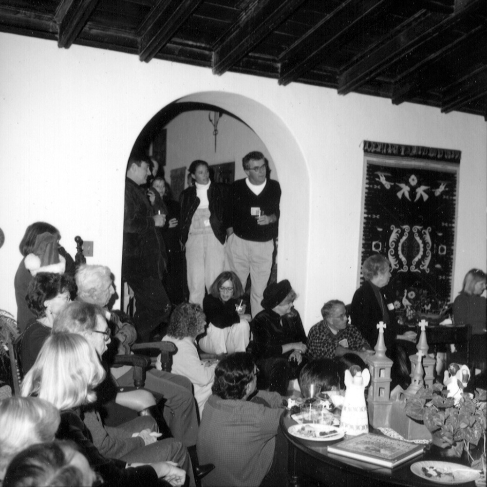1998 Christmas Party at Casa Goldberg Sloane