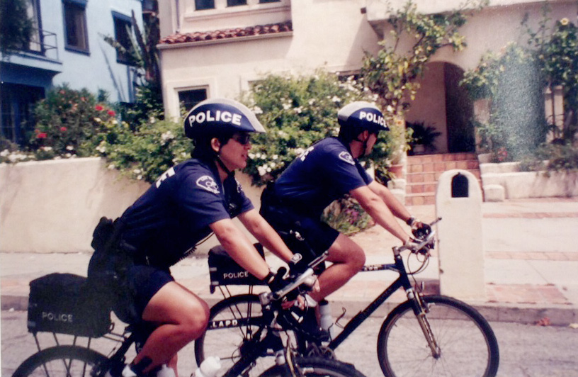 At one time, LAPD officers patrolled the Canyon and beach on bike during the summer months